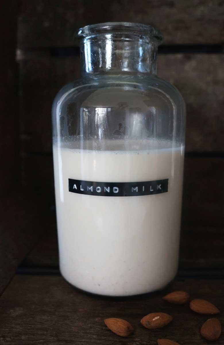Almond and hazelnut milk