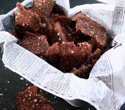 Rye Bread Chips