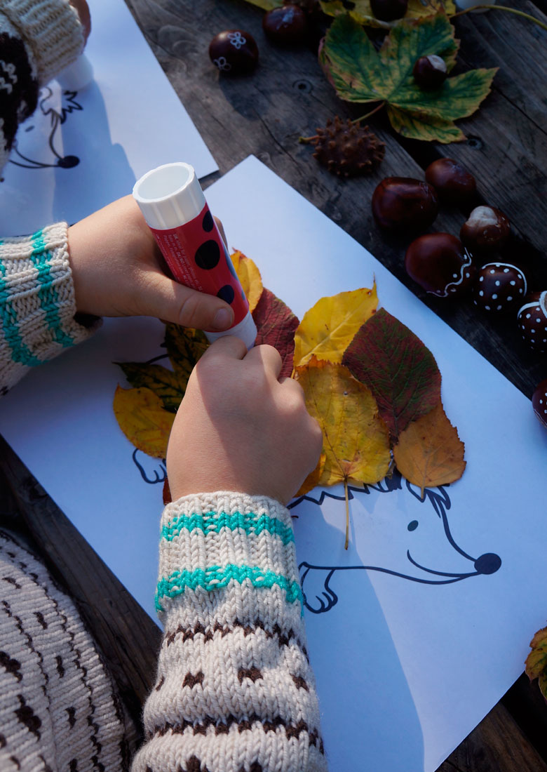 Easy fall DIY with kids